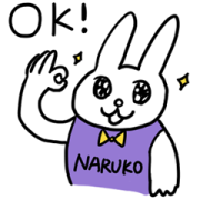 NARUKO × Zoo of Depression Sticker for LINE & WhatsApp | ZIP: GIF & PNG