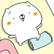 Originator! Friends Cat TOGETHER Sticker for LINE & WhatsApp | ZIP: GIF & PNG