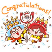 Pixar Tower 1st Anniversary Stickers Sticker for LINE & WhatsApp | ZIP: GIF & PNG