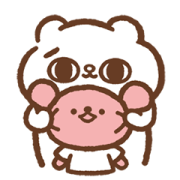 SONG SONG MEOW x Āoo Āoo BEAR Sticker for LINE & WhatsApp | ZIP: GIF & PNG