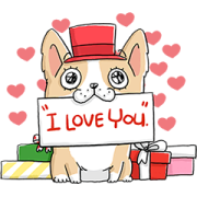 Dogplease Festive 2020 Sticker for LINE & WhatsApp   ZIP: GIF & PNG