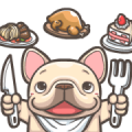 French Bulldog PIGU-Ani Stickers XVIII Sticker for LINE & WhatsApp   ZIP: GIF & PNG