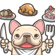 French Bulldog PIGU-Ani Stickers XVIII Sticker for LINE & WhatsApp | ZIP: GIF & PNG