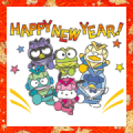 Hapidanbui New Year's Animated Stickers