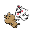 LOVE MODE ~COUPLES MOVE~ Sticker for LINE & WhatsApp | ZIP: GIF & PNG
