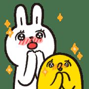 Lazy Rabbit & Mr.Chu X'mas Stickers Sticker for LINE & WhatsApp | ZIP: GIF & PNG