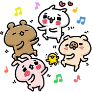 Love Mode: Friend Time Sticker for LINE & WhatsApp | ZIP: GIF & PNG