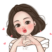 Milkie Miki Animated Sticker for LINE & WhatsApp | ZIP: GIF & PNG