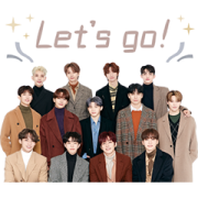 SEVENTEEN Moving Backgrounds Sticker for LINE & WhatsApp | ZIP: GIF & PNG