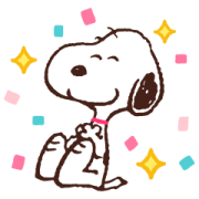 Winter Snoopy Moving Backgrounds Sticker for LINE & WhatsApp | ZIP: GIF & PNG