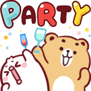 N9: Happy Time Effect Stickers Sticker for LINE & WhatsApp | ZIP: GIF & PNG