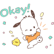 Pochacco Animated Stickers: Soft Sticker for LINE & WhatsApp | ZIP: GIF & PNG