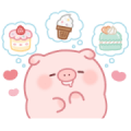 Puni Puni Pig Sweets Sticker for LINE & WhatsApp | ZIP: GIF & PNG