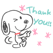 Snoopy's Friendly Chats (Doodles) Sticker for LINE & WhatsApp | ZIP: GIF & PNG