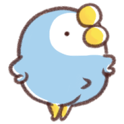 That Bird Animation 1 Sticker for LINE & WhatsApp | ZIP: GIF & PNG