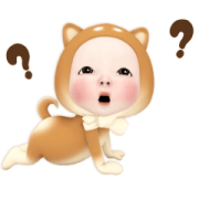 Doggy Towel Daily Sticker for LINE & WhatsApp | ZIP: GIF & PNG