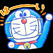 Doraemon All-Purpose Greeting Stickers Sticker for LINE & WhatsApp | ZIP: GIF & PNG