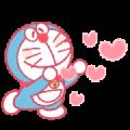 Doraemon Pair Stickers (Doraemon)