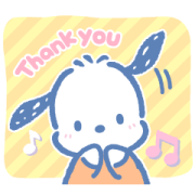 Pochacco's Everyday Stickers Sticker for LINE & WhatsApp | ZIP: GIF & PNG