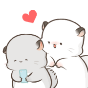 Simao and Bamao 10 Sticker for LINE & WhatsApp | ZIP: GIF & PNG