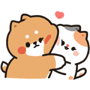 Tonton Friends: Daily Joyful Love Sticker for LINE & WhatsApp | ZIP: GIF & PNG
