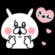 yuruusagi × lacore Sticker for LINE & WhatsApp   ZIP: GIF & PNG