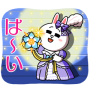 BROWN & FRIENDS x Takarazuka Revue Sticker for LINE & WhatsApp | ZIP: GIF & PNG