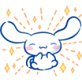 Cinnamoroll: All Expressions Sticker for LINE & WhatsApp | ZIP: GIF & PNG