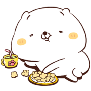 Friends Cat SOFT Sticker for LINE & WhatsApp | ZIP: GIF & PNG