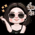 Jasmine Animated Sticker for LINE & WhatsApp   ZIP: GIF & PNG