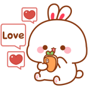 Lovely Tooji Effect Stickers Sticker for LINE & WhatsApp | ZIP: GIF & PNG