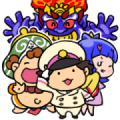 Momotaro Dentetsu Cute Stickers