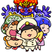 Momotaro Dentetsu Cute Stickers Sticker for LINE & WhatsApp | ZIP: GIF & PNG