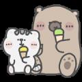 Mr. Bear and His Cutie Cat: Alert