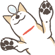 Shiba Inu (Shiba-Dog) BIG Stickers Sticker for LINE & WhatsApp | ZIP: GIF & PNG