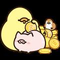 FoodieG Golden Stickers
