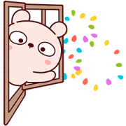 Lengtoo Baby Enjoys Fireworks With You Sticker for LINE & WhatsApp | ZIP: GIF & PNG