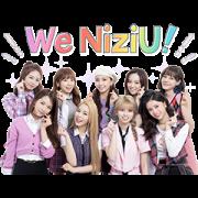 NiziU Sticker for LINE & WhatsApp | ZIP: GIF & PNG