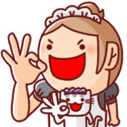 Nonie Family Animation Stickers Sticker for LINE & WhatsApp | ZIP: GIF & PNG