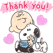 Bubble 2 & Snoopy Sticker for LINE & WhatsApp   ZIP: GIF & PNG