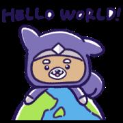 Ken the Ninja Sticker for LINE & WhatsApp | ZIP: GIF & PNG