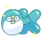 PP Mini Basic Daily Stickers Sticker for LINE & WhatsApp | ZIP: GIF & PNG