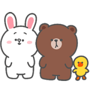 BROWN & FRIENDS × Smaisiam Sticker for LINE & WhatsApp | ZIP: GIF & PNG