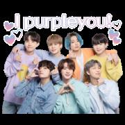 "BTS ""LOVE MYSELF"" 2 Sticker for LINE & WhatsApp   ZIP: GIF & PNG"