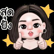 Jasmine Animated 2 Sticker for LINE & WhatsApp   ZIP: GIF & PNG