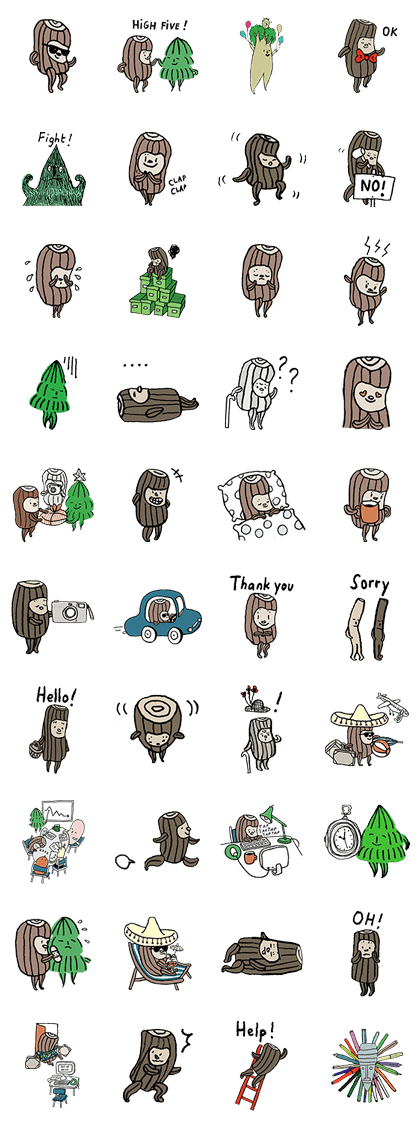 KUBBE Line Sticker GIF & PNG Pack: Animated & Transparent No Background | WhatsApp Sticker