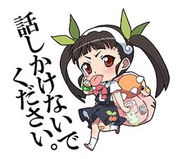 Monogatari Series Sticker for LINE & WhatsApp | ZIP: GIF & PNG