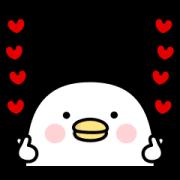 Noisy chicken Sticker for LINE & WhatsApp | ZIP: GIF & PNG