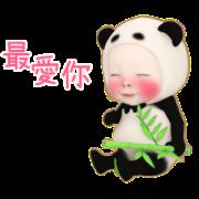 Panda Towel Daily 2 Sticker for LINE & WhatsApp | ZIP: GIF & PNG