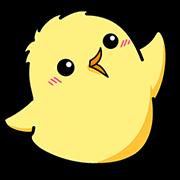 Pisuke the Chick® Sticker for LINE & WhatsApp | ZIP: GIF & PNG